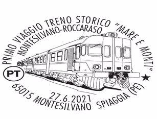 Tutto esaurito per la prima corsa del treno storico Montesilvano-Roccaraso