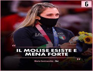 Maria Centracchio bronzo olimpico, l'emozione del Molise e di tutto il mondo dello Sport