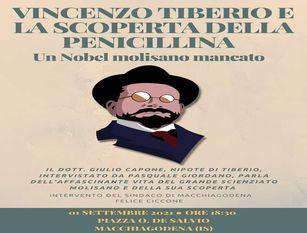 Vincenzo Tiberio scopre la penicillina. A Macchiagodena il nipote dello scienziato molisano
