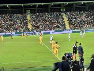 Serie B, Frosinone-Brescia 2-2: Moreo acciuffa il pari al 90' e evita la sconfitta ai  lombardi Allo Stirpe un bel Benevento