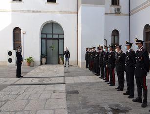 Cerimonia di consegna onorificenze e ricompense presso il Comando Provinciale di Campobasso