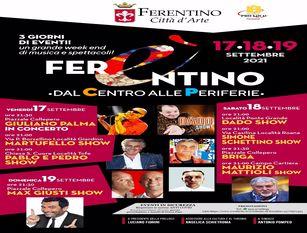 A Ferentino previste tre serate di musica, cabaret e comicità
