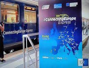 Connecting Europe Express, il treno europeo fa tappa a Roma Nella Capitale il treno che attraversa 26 Paesi dell'UE e oltre 100 città
