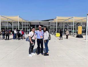 Expo Dubai 2020: studenti 'Pertini' a School Mode #Cop26 Chiara Spina e Giuseppe Pio Pozzuto fanno parte team italiano