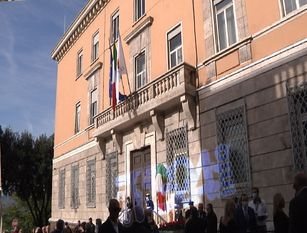 Inaugurazione del nuovo Palazzo comunale di Frosinone
