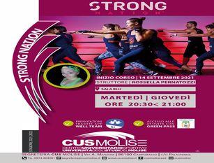 Cus Molise, fitness sincronizzato con la musica. Con Strong Nation e' possibile