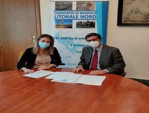 Dopo Frosinone e Latina anche per l'area del litorale nord siglata la convenzione per i lavori di manutenzione Al  consorzio di bonifica litorale nord